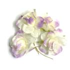 Декор MH1-249 цветы «Астра» 7715348 уп.4 шт F249 фиолетово-кремовый