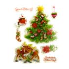 Декор SCB0810054 набор штампов «Удачи в новом году» 14*18 548207