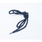 Шнурки  арт.841-Н  5 мм 100 см чёрный/серый