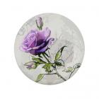 Игольница- магнит 557132 (76) «Сиреневая роза» 25 мм
