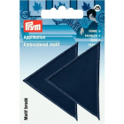 Термоаппликация 925472 «Треугольники» Prym больш. т,синий  (уп 2 шт) 6*6 см 343189