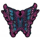 Термоаппликация HP 7724491 «Бабочка со стразами» 9,5*10,5 см