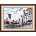 Набор для вышивания Овен №1051 «На Патриаршем мосту» 27*20 см