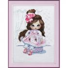 Набор для вышивания Овен №1220 «Кукла Даша» 22*27 см