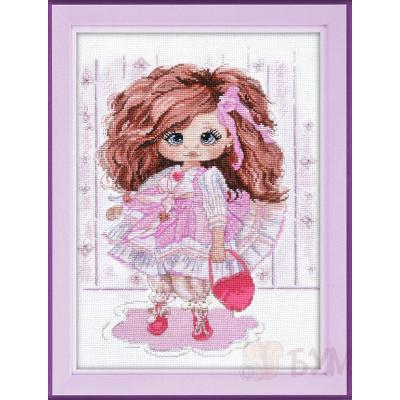Набор для вышивания Овен №1221 «Кукла Ариша» 22*27 см в интернет-магазине Швейпрофи.рф