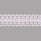 Тесьма вязаная 18мм 6994 (уп. 25 м) 003 белый
