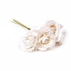 Декор MG-FA72-04 цветы цв 2 молочный