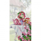 Рисунок на ткани «Конек 1276 Праздник на даче» 25*45 см