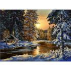 Рисунок на ткани «Конек 9742 Мороз и солнце» 29*39 см