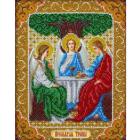 Набор для вышивания бисером Паутинка Б-1087 «Св. Троица» 20*25 см