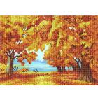 Рисунок для вышивания бисером Благовест К-3129 Золотая осень 28*30 см