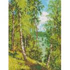 Рисунок для вышивания бисером Каролинка КБП-3025 «Летнее настроение» 27*35 см