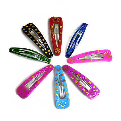 Зажим для волос ТИК-ТАК 6 см разноцветные уп.10-12шт в интернет-магазине Швейпрофи.рф
