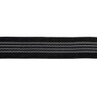 Резинка 25 мм с латексом Ф-25  черный/ т. серый уп 25 м