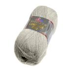 Пряжа Лана люкс 800 (Himalaya Lana Lux 800),  100 г/ 800  74629 св. серый