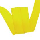 Лента репсовая 25 мм (уп. 27 м)  023  жёлтый