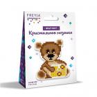 Алмазная мозаика Фрея ALVM-005«Медвежонок» магнит 7,5*8 см