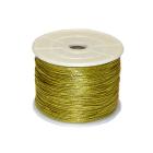 Шнур декор. Р 1 мм (уп. 91.4 м) золото