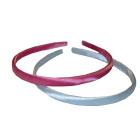 Ободок атлас 1 см разноцветный