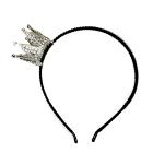 Ободок бархат «Корона»