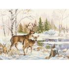Набор для вышивания Алиса 3-28 «У лесного озера» 23*17 см