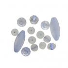 Бусины набор TR-2147 14 шт/уп 7712123 голубой