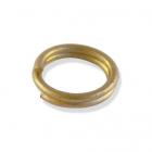 Кольцо для бус Астра ОТН1526 соединительное двойное  0,8*10 мм золото