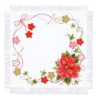 Набор для вышивания Риолис №1752 «Салфетка Рождественская» 45*45 см