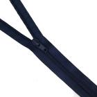 Молния Т5 спираль авт. обувная G005A 55 см синий
