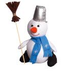 Набор для шитья Кукла Перловка из фетра ПСФ-1601 «Снеговик» 558320 18,5 см