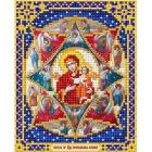 Рисунок для вышивания бисером Благовест И-5025 Неопалимая Купина 13,5*17см