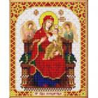 Рисунок для вышивания бисером Благовест И-5061 ПБ Всецарица 13,5*17см