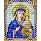 Рисунок для вышивания бисером Благовест И-5093  Юровичская Милосердная 13*17