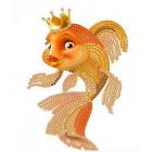 Рисунок на ткани «Конек 8107 Золотая рыбка» 10*12 см