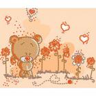 Рисунок на ткани «Конек 8114 Мишка-малышка» 15*18 см