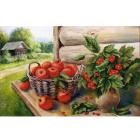 Рисунок на ткани «Конек 9671 Урожай » 29*39 см