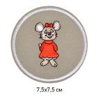 Заплатки термо-клеевые TEP.RO.11 «Мышка» 5*7,5 см