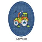 Заплатки термо-клеевые TEP.RO.15 «Трактор» 7,5*9,5 см