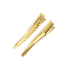 Заколки для волос (основа) 47 мм. DC-205 (уп. 50 шт.) золото
