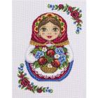 Набор для вышивания Panna НМ-1699 «Русская матрешка. » 22*29 см