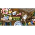 Набор для вышивания Риолис №1815 Панно две подушки «Домашний уют» 30*60 см