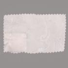 Ткань подкл. поливискон, вискоза 47%; п/э 53% жаккард (шир. 150 см) T528/22 белый