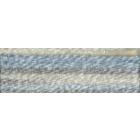 Мулине DMC 8м, 4010 белый-серый-голубой