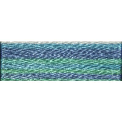 Мулине DMC 8м, 4030 голубой-салатовый-сиреневый в интернет-магазине Швейпрофи.рф