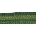 Мулине DMC 8м, 4045 св.зеленый-т.зеленый