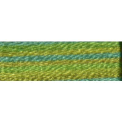 Мулине DMC 8м, 4050 зеленый-желтый-голубой в интернет-магазине Швейпрофи.рф