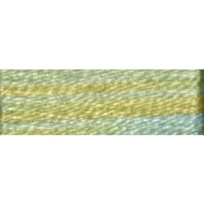 Мулине DMC 8м, 4060 бл.желтый-бл.голубой в интернет-магазине Швейпрофи.рф