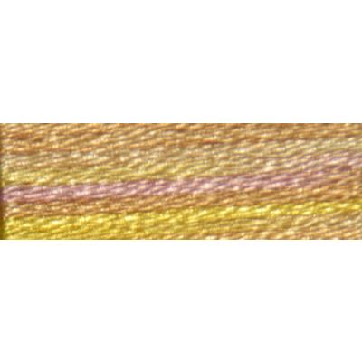 Мулине DMC 8м, 4100 желтый-бежевый-розвый в интернет-магазине Швейпрофи.рф