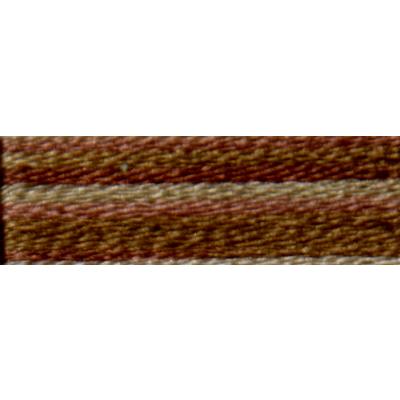 Мулине DMC 8м, 4140 св.коричневый-т.коричневый в интернет-магазине Швейпрофи.рф