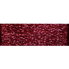 Мулине DMC 8м, красный,т.,металл. (е815)